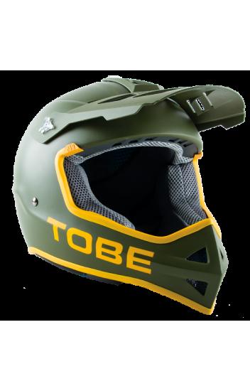 Шлем матовый TOBE <span>  VERTEX Dark Olive</span>